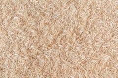 Yttersida av en beige matta som göras av rep som en bakgrund Arkivfoto