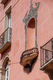 Yttersida av en gammal byggnad Royaltyfri Foto