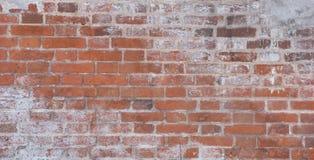 Yttersida av en gammal textur för bakgrund för grunge för vägg för röd tegelsten royaltyfri fotografi