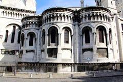 Yttersida av en historisk byggnad i Paris Frankrike Royaltyfri Fotografi