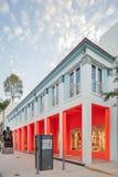 Yttersida av Fendi shoppar i midtownen Miami Royaltyfria Foton