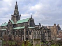 Yttersida av Glasgow Cathedral Royaltyfri Fotografi