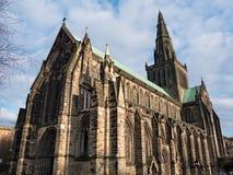 Yttersida av Glasgow Cathedral Royaltyfri Foto