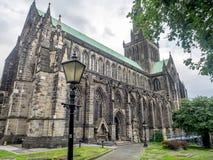 Yttersida av Glasgow Cathedral Royaltyfria Foton