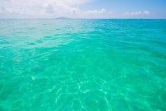Yttersida av havsvatten Arkivbild