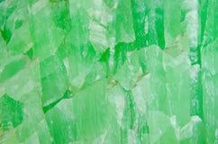Yttersida av jadestenen Arkivfoton