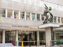 Yttersida av kongresshuset som innehåller den fackliga kongressen för handlar, Lon Fotografering för Bildbyråer