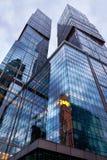 Yttersida av kontorsbyggnaden i Ceneren Arkivfoton
