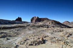 Yttersida av krater av en aktiv vulkan New Zealand Fotografering för Bildbyråer