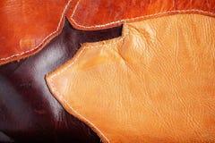 Yttersida av läder Royaltyfria Bilder