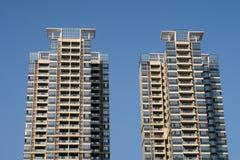 Yttersida av lägenhethuset Royaltyfri Foto