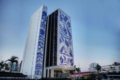 Yttersida av nationell ung konstfundamentbyggnad/Bacardi honom Royaltyfri Bild