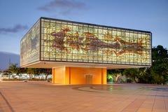 Yttersida av nationell ung konstfundamentbyggnad/Bacardi honom Royaltyfri Foto
