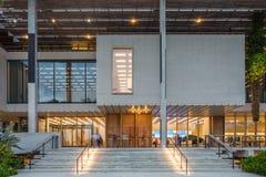 Yttersida av Perez Museum i midtownen Miami Royaltyfria Foton