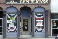 Yttersida av republikanska tillståndshuvudkontor Arkivbilder