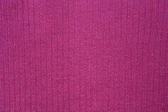Yttersida av rosa tyg Arkivfoto