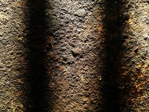 Yttersida av rostigt stål för bakgrund royaltyfri bild