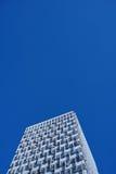 Yttersida av skyskrapor Arkitektur och byggnadsmodell arkivbild
