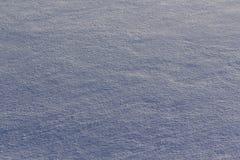 Yttersida av snö med textur Royaltyfri Bild