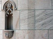Yttersida av Sts John domkyrka, Spokane, Washington Royaltyfri Bild
