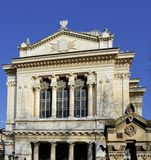 Yttersida av synagogan Royaltyfri Foto