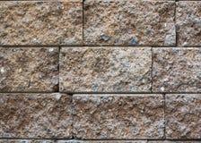 Yttersida för bakgrund för tegelstenvägg Arkivbilder