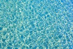 Yttersida för blått vatten Fotografering för Bildbyråer