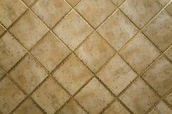 Yttersida för keramisk tegelplatta Arkivbild