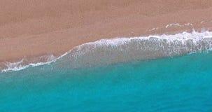 Yttersida för lugna hav, seascape lager videofilmer