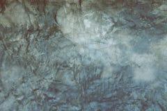 Yttersida för spricka för grunge för buse för vägg för mortel för cementbetonggrå färger Royaltyfri Foto