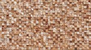 Yttersida för stenvägg Arkivbild