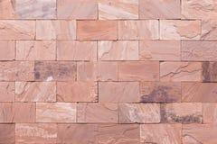 Yttersida för tegelstenvägg Royaltyfri Foto