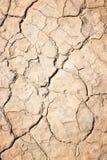 Yttersida för torkad jord royaltyfri fotografi