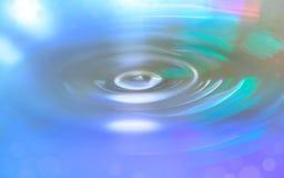 Yttersida för vatten för vattenvågor Royaltyfri Bild