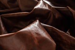 Yttersida och skugga på läder Fotografering för Bildbyråer