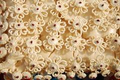 Yttersida som gör blommorna Arkivbilder