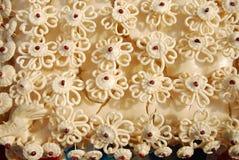 Yttersida som gör blommorna Arkivbild