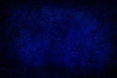 Yttersidan av gammalt blått mönstrat exponeringsglas, abstrakt begrepp Arkivfoto