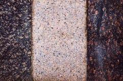 Yttersidan av marmorn Arkivfoto