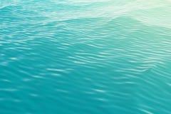 Yttersidan sikt av för havet, hav från överkant med vågor illustration 3d stock illustrationer