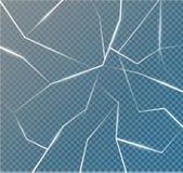 Yttersidatexturen knäckas på is som isoleras på en genomskinlig bakgrund också vektor för coreldrawillustration broken exponering Royaltyfri Fotografi