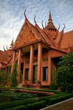 Kungligt medborgaremuseum i Phnom Penh Arkivbilder
