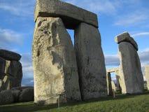 Yttre cirkel till inre kretsen på Stonehenge Royaltyfria Foton