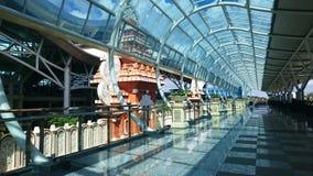 Yttre design av flygplatsen arkivfoto