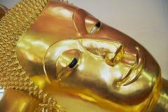 Yttre detalj av Buddhastatyn i Nakhom Pathom, Thailand Royaltyfri Foto