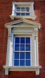 Yttre fönster för Victorian Arkivbilder