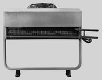Yttre luftkonditioneringsapparatenhet för industriell bakgrund Arkivbilder