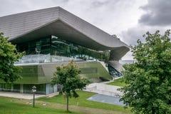 Yttre sikt av BMW museet arkivfoto