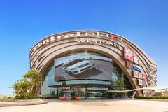 Yttre sikt av den centrala plazaen Westgate Det är en shoppingplaza och komplex som ägas av centrala Pattana Arkivbilder