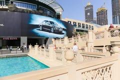 Yttre sikt av den Dubai gallerian Royaltyfri Foto